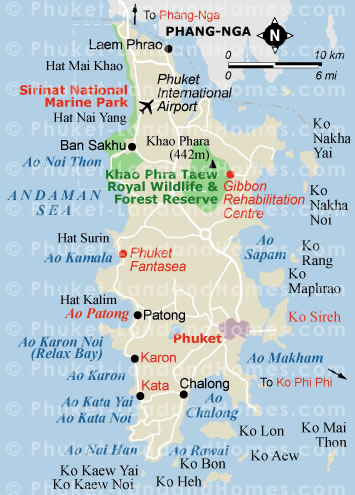Phuket land and homes property consultants Land and cabins